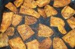 Indian-Spiced Sweet Potato Steak Fries