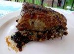 Pork Tenderloin Stuffed With Brie and Mushrooms