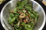 Barbecue /Bbq Mushroom and Green Bean Salad