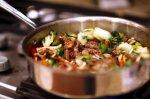Stir Fry Maitake Mushroom & Beef With Oyster Sauce