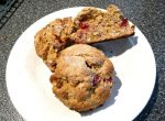 Easy Cranberry Orange Pecan Scones
