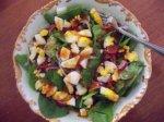 Rock N Roll Spinach Salad
