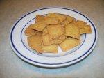 Vegan Chickpea Crackers