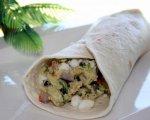 Ww Greek-Inspired Scrambled Egg Wraps