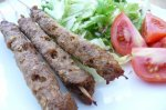 Egyptian Beef Koftas (Ground Beef on Skewers)