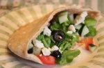 Greek Salad Pita Pockets for Two
