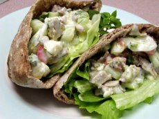 Turkey Pita Sandwich