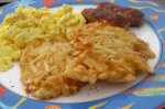 Nif's Beach House Potato Pancakes
