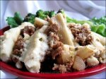 Island Pasticio (Greek Noodle Casserole With Ground Meat)