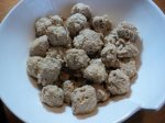 Turkey Meatballs With Cheese and Apple (Slow Cooker, Gluten-Free