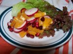 African Orange Spice Salad