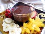 Chocolate Fondue L'afrique
