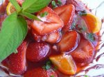 Fresh Strawberries With Campari