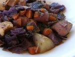 Keilbasa Cabbage