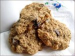 Diabetic Oatmeal Cookies With Chocolate Chunks and Candied Ginge