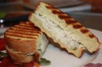 Tuna and Gruyere Panini