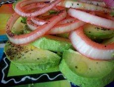Avocado Salad (Ensalada De Aguacate)