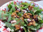 Candied Walnut Gorgonzola Salad