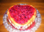 Holiday Cranberry Cheesecake
