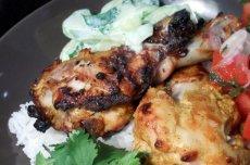 Indian-Inspired Chicken With Raita