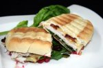 Turkey Panini With Candied Bacon