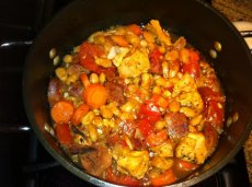 Chicken and Andouille Cassoulet
