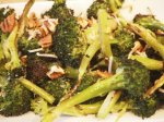 Pecan-Toasted Broccoli