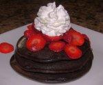 Stardust Chocolate Pancakes