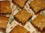 Chocolate Ripple Cookie Squares