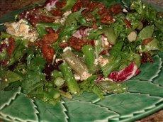 Asparagus, Feta & Pumpkin Seed Salad