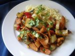 Chicken Lime and Cashew Nut Stir-fry