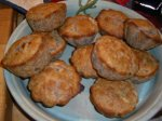 Blue Corn Chile Bacon Muffins