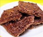 Brown Stuff (Chocolate Slice) - Don't Be Put off by the Name !