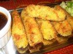 Korroke with Tonkatsu Sauce (Japanese Potato Croquettes with Eas