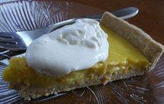 Orange, Lemon and Cardamom (cardamon) Tart