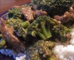 Stir Fried Beef and Broccoli in Oyster Sauce