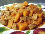 Crock Pot Tangy Pork and Sweet Potatoes