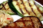 Grilled Zucchini and or Eggplant (Aubergine)