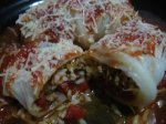 Light and Luscious Stuffed Cabbage Rolls