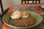 Diana's Egyptian Lentils & Rice