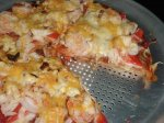 Southwestern X-tra Thin Crust Seafood Pizza