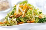 Savoy cabbage and coriander coleslaw