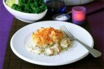 Rich fish pie