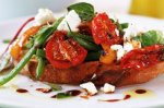 Sweet and savoury bruschetta