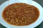 Bill Hunter's spicy chickpeas
