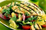 Chargrilled chicken and apple salad