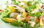 Edam, orange & fennel salad