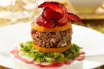 Squash and pepper stacks