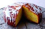 Carnation lemon drench cake