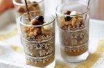 Espresso granita with cream liqueur